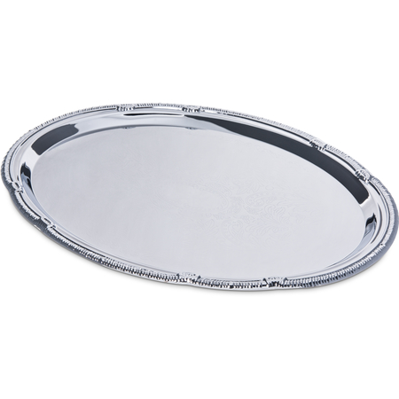 "608904 - Celebration™ Oval Tray w/Ornate Border 17-7/16"" x 12-7/8"""