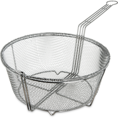 "601003 - Mesh Fryer Basket 13-1/2"" - Chrome"