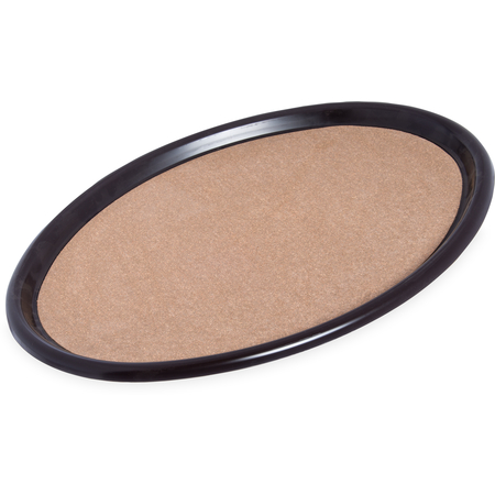 "241901 - Oval Cork Tray 24"", 19"", 3/4"" - Brown"