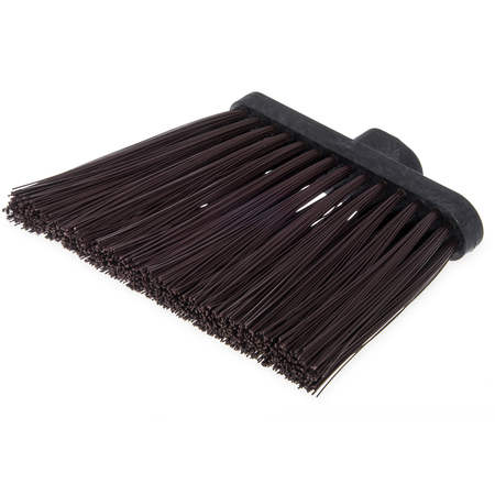 "3686801 - Duo-Sweep® Heavy Duty Angle Broom w/12"" Flare (Head Only) 8"" - Brown"