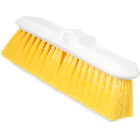"4005004 - Flo-Pac® Flo-Thru Nylex Brush With Flagged Nylex Bristles 9-1/2"" - Yellow"