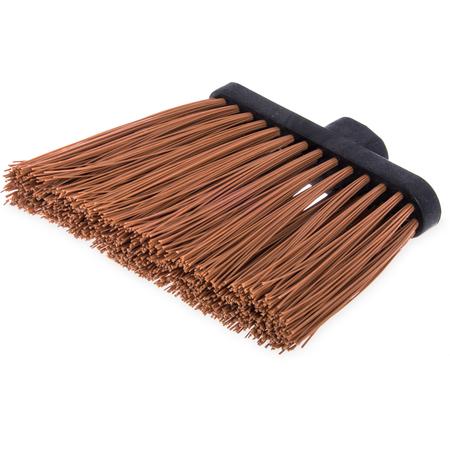 "3686825 - Heavy Duty Angle Broom w/12"" Flare (Head Only) 8"" - Tan"