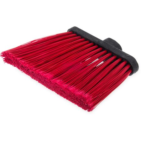 """3686705 - Duo-Sweep® Flagged Angle Broom Head 12"""" - Red"""