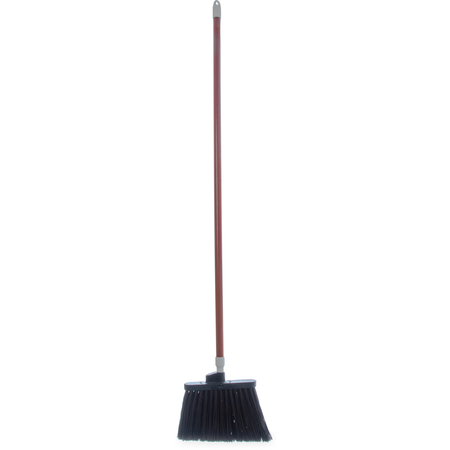 "4108201 - Sparta® Spectrum® Duo-Sweep® Angle Broom Flagged Bristle 56"" Long - Brown"