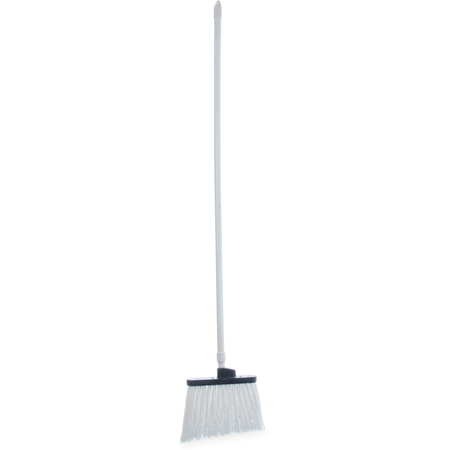 "4108302 - Sparta® Spectrum® Duo-Sweep® Unflagged Bristle Angle Broom with Handle 56"" - White"