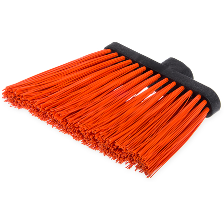 "3686824 - Duo-Sweep® Heavy Duty Angle Broom w/12"" Flare (Head Only) 8"" - Orange"