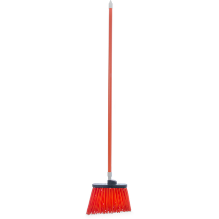 "4108324 - Sparta® Spectrum® Duo-Sweep® Angle Broom Unflagged 56"" Long - Orange"