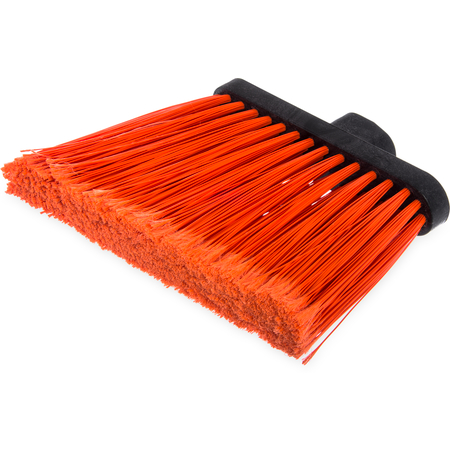 "3686724 - Duo-Sweep® Medium Duty Angle Broom w/12"" Flare (Head Only) 12"" - Orange"