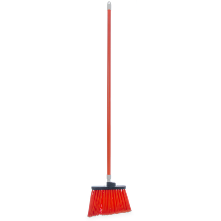 "4108224 - Sparta® Spectrum® Duo-Sweep® Flagged Bristle Angle Broom with Handle 56"" - Orange"