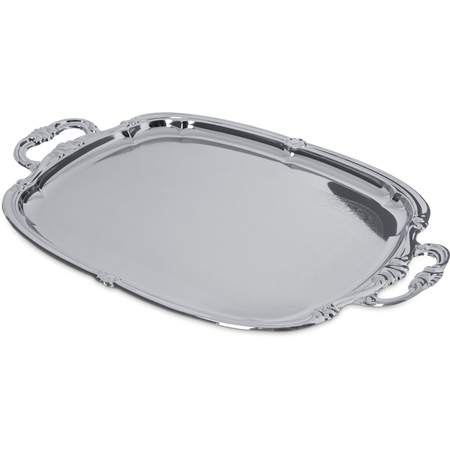 "608919 - Celebration™ Oval Tray w/Integral Handles 20-7/8"" x 13-1/2"""