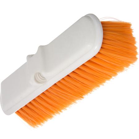 "4005024 - Flo-Thru Nylex Brush With Flagged Nylex Bristles 9-1/2"" - Orange"