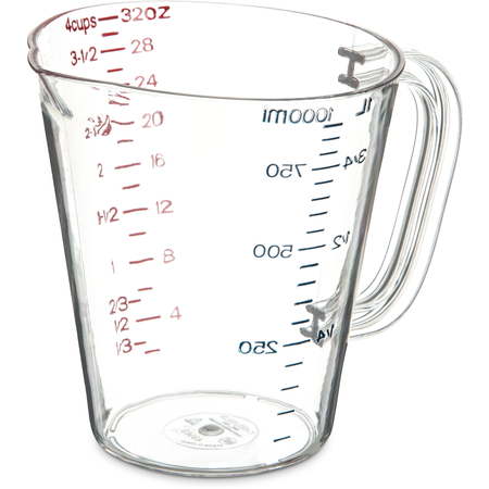 4314307 - Commercial  Measuring Cup 1 qt - Clear