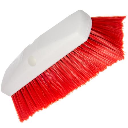"4127805 - Sparta® Spectrum® Flo-Thru Wall & Equipment Brush 10"" - Red"