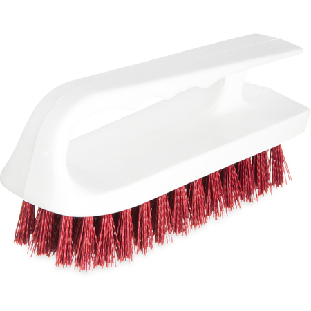 "4002405 - Sparta® Hand Scrub Brush 6"" - Red"
