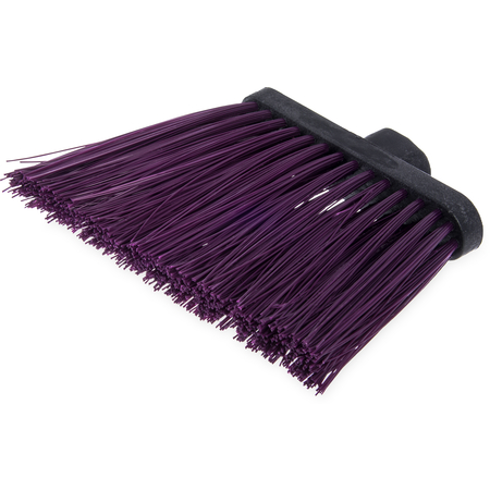"3686868 - Heavy Duty Angle Broom w/12"" Flare (Head Only) 8"" - Purple"