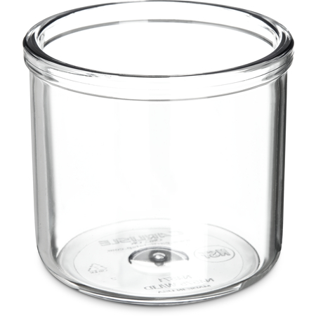 457107 - Condiment Jar without Lid 8 oz - Clear