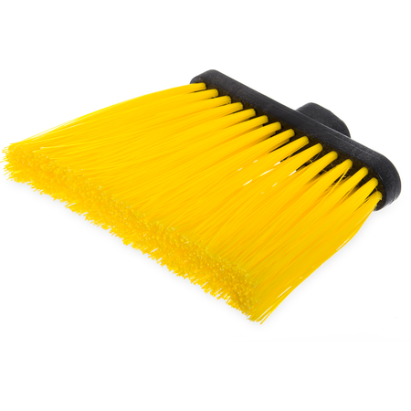 "3686804 - Duo-Sweep® Heavy Duty Angle Broom w/12"" Flare (Head Only) 8"" - Yellow"