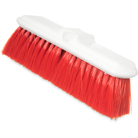 "4005005 - Flo-Pac® Flo-Thru Nylex Brush With Flagged Nylex Bristles 9-1/2"" - Red"