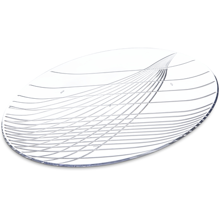 "641607 - Festival Trays™ Round Tray 16"" - Clear"