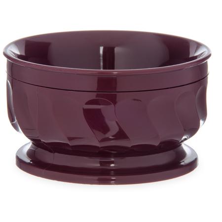 DX330061 - Turnbury® Insulated Pedestal Based Bowl 9 oz (48/cs) - Cranberry