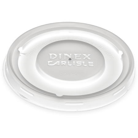 DX30008714 - Turnbury® Translucent Mug & Bowl Lid  (1500/cs) - Translucent