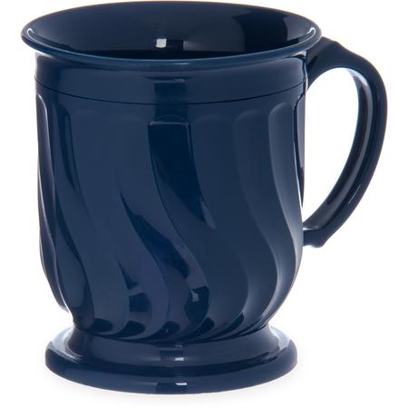 DX300050 - Turnbury® Insulated Pedestal Base Mug 8 oz (48/cs) - Dark Blue