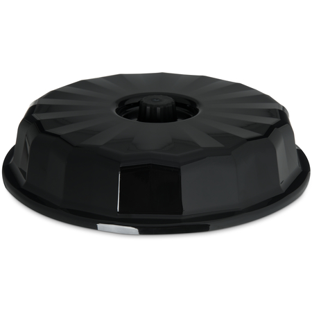 "DX9400B03 - Tropez Entree Dome, High-Temp 9-1/2""D (12/cs) - Onyx"