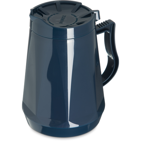 DX116050 - Dinex® Beverage Server Insulated w/ Lid 33.81 oz. (12/cs) - Midnight Blue