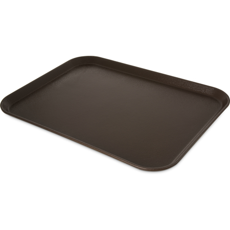 "2015GR2076 - Griptite 2 Rectangle Tray 20"" x 15"" - Brown"