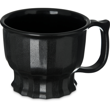 DX9000B03 - Tropez Cup, High-Temp 8oz (48/cs) - Onyx