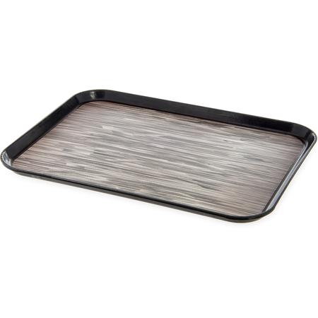 "DXSMC1520NSM03 - Glasteel™ Non-Skid Tray 15"" x 20"" (12/cs) - Black"