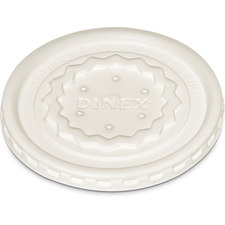 DX9000B7000 - Tropez Disposable Lid- Fits DX9000B 8 oz Mug & DX9200B 5 oz Bowl (1000/cs)