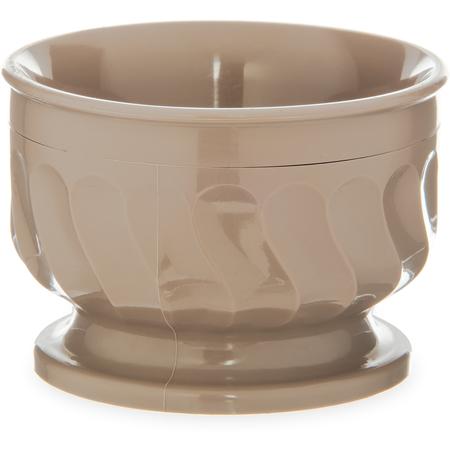 DX320031 - Turnbury® Insulated Pedestal Based Bowl 5 oz (48/cs) - Latte