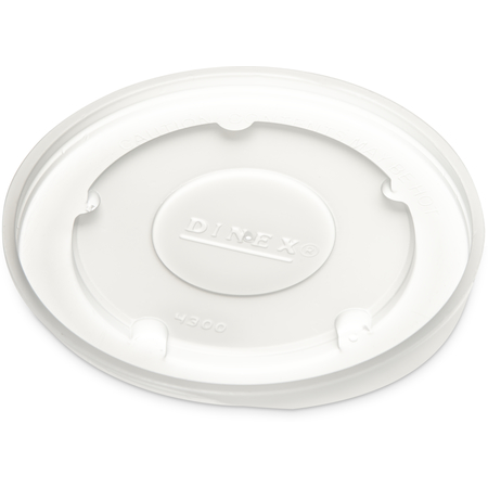 DX43008714 - Heritage Translucent Lid- fits DX4300 9oz Bowl (1000/cs) - Translucent