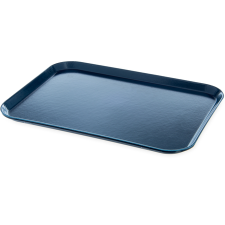 "DX1089I50 - Glasteel™ Flat Tray 14"" x 18"" (12/cs) - Dark Blue"