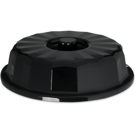 "DX9407B03 - Tropez Entree Dome, High-Temp 7-3/4""D (12/cs) - Onyx"