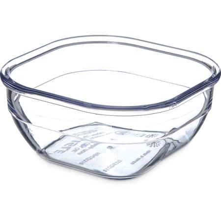 DXSQD1007 - Square Bowl 10 oz (48/cs) - Clear