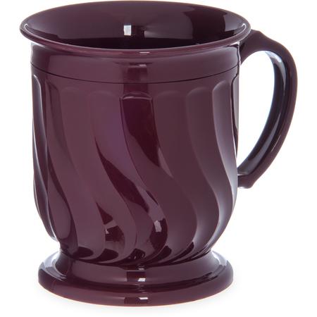 DX300061 - Turnbury® Insulated Pedestal Base Mug 8 oz (48/cs) - Cranberry