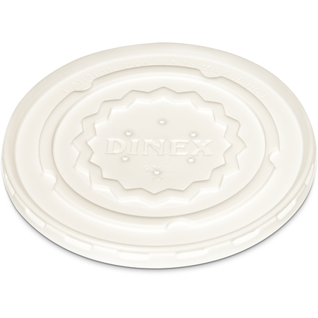 DX9300B7000 - Tropez Disposable Lid- Fits DX9300B 9oz Bowl (1000/cs) - White