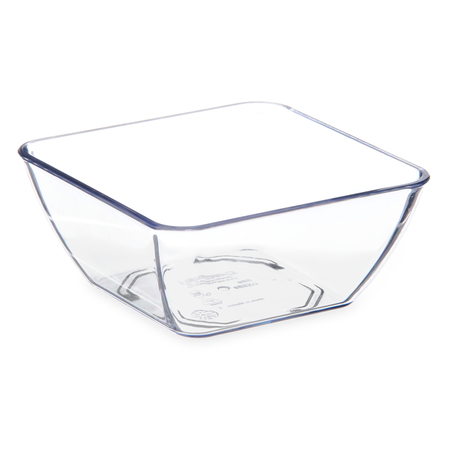 DXSB907 - Square Bowl 9 oz (48/cs) - Clear