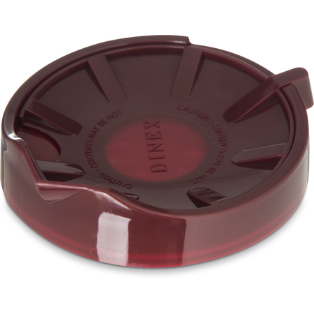 DX115661 - Beverage Server Replacement Lid (12/cs) - Cranberry