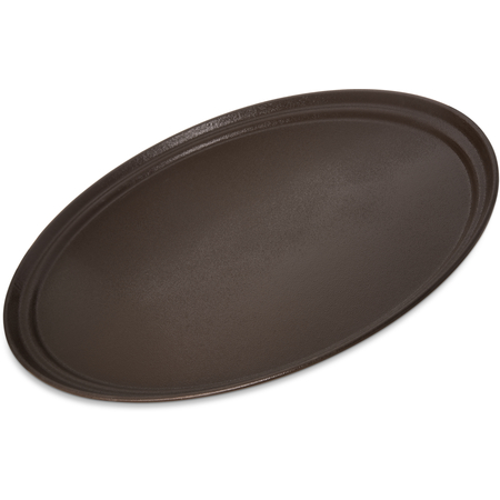 "2700GR2076 - Griptite 2 Oval Tray 27"" x 22"" - Brown"