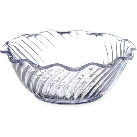 DXSWC1207 - Tulip Bowl - Swirl 13 oz (48/cs) - Clear