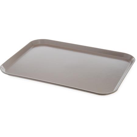 "DX1089I31 - Glasteel™ Flat Tray 14"" x 18"" (12/cs) - Latte"
