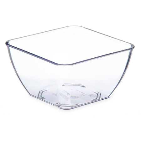 DXSB1207 - Square Bowl 12 oz (48/cs) - Clear