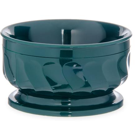 DX330008 - Turnbury® Insulated Pedestal Based Bowl 9 oz (48/cs) - Hunter Green