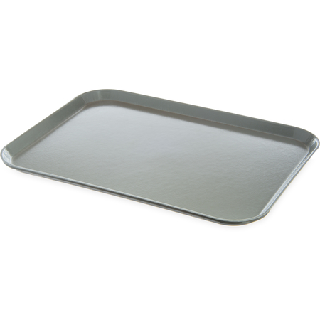 "DX1089I23 - Glasteel™ Flat Tray 14"" x 18"" (12/cs) - Gray"