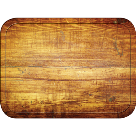 "1814WFG094 - Glasteel™ Wood Grain Rectangular Tray 18"" x 14"" - Redwood"