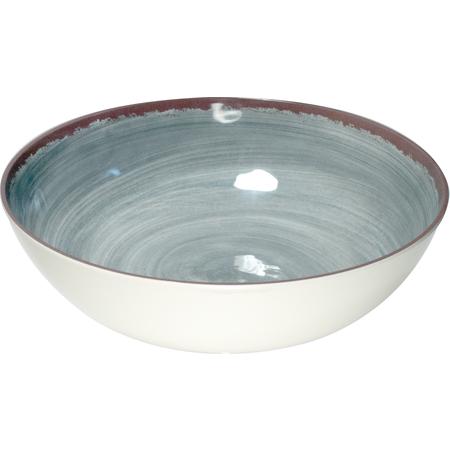 5401318 - Mingle Melamine Large Serving Bowl 5 Quart - Smoke