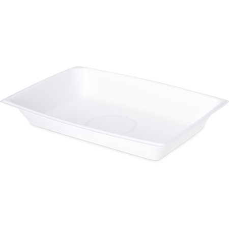 DXTT8 - Rectangular Entree One Compartment 12 oz (1000/cs) - White